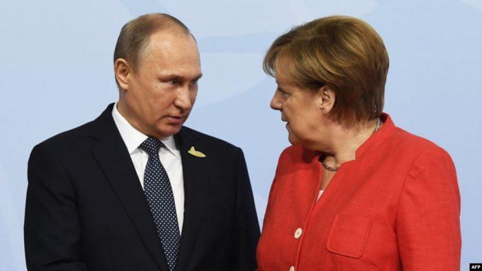 «Сегодня ты победитель»: Меркель одной фразой оценила итоги саммита в Париже ➤ Главное.net