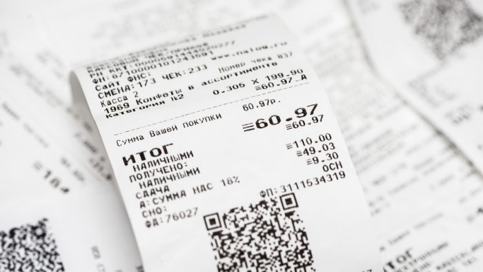 Почему нужно забирать все чеки с собой ➤ Главное.net