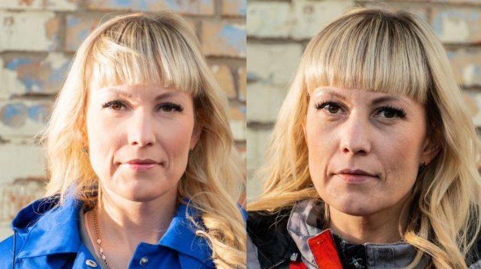 Фото медиков до и после смены во время эпидемии COVID-19 4