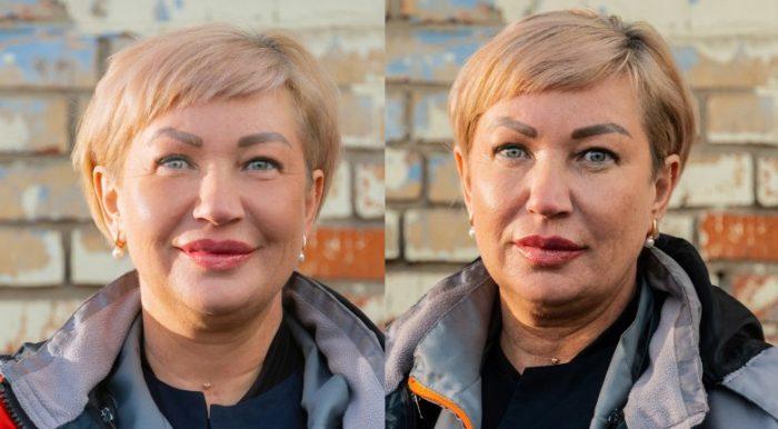 Фото медиков до и после смены во время эпидемии COVID-19 3