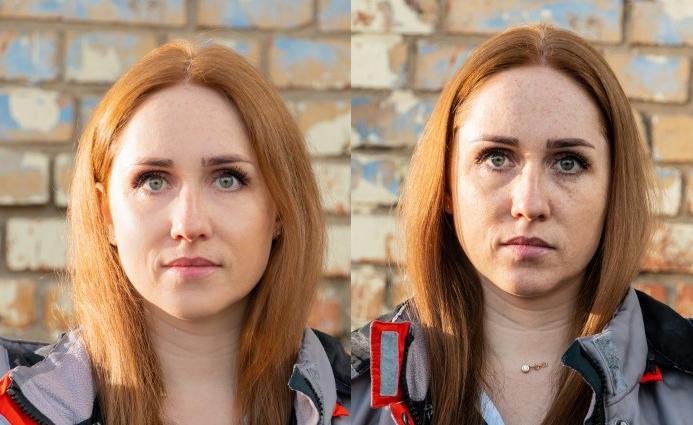 Фото медиков до и после смены во время эпидемии COVID-19 ➤ Главное.net