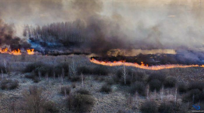 Пожар в Чернобыле достиг хранилищ с радиоактивными отходами ➤ Главное.net