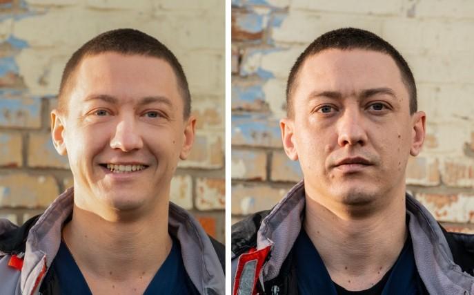 Фото медиков до и после смены во время эпидемии COVID-19 5