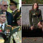Таинственная девушка в медалях на VIP-трибуне парада в Минске ➤ Главное.net