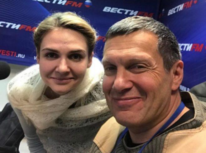 О чем был конфликт Соловьева ссоведущей перед ееувольнением (видео) ➤ Главное.net