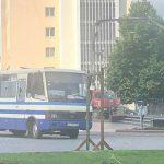 Мужчина захватил автобус с заложниками в Луцке ➤ Главное.net