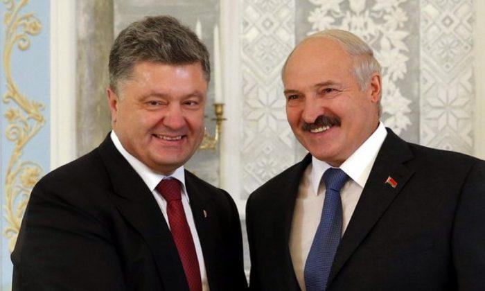 Лукашенко «сливал» Порошенко данные о перемещении войск РФ ➤ Главное.net