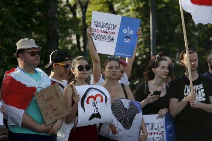 Массовые протесты в Белоруссии ➤ Главное.net
