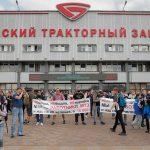 Лукашенко попытался осадить бастующих на заводе ➤ Главное.net
