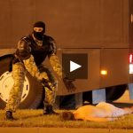 Ставший героем мема белорусский силовик рассказал, что происходит на фото ➤ Главное.net