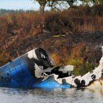 Фото с места падения самолета с «Локомотивом» ➤ Главное.net