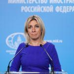 Захарова прокомментировала посещение Меркель Навального в больнице ➤ Главное.net