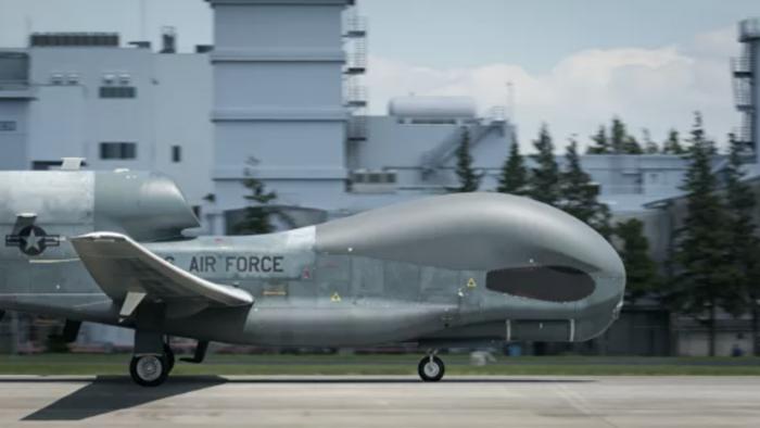 В Крыму сообщили об американских дронах на границе ➤ Главное.net