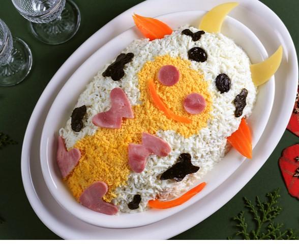 Лучший салат на год Быка, от которого гости будут в восторге 4