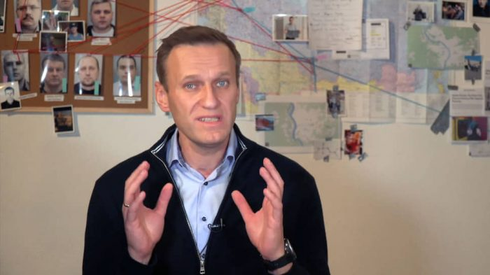 Кремль не хочет принимать трусы Навального всерьез ➤ Главное.net