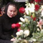 Молодая вдова Грачевского в резкой форме потребовала оставить ее в покое ➤ Главное.net