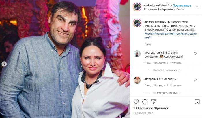 Под стать мужу: харизматичный актер Дмитриев показал свою супругу 3